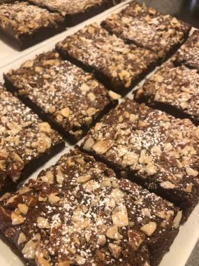 Brownie Chocolat-Amandes